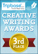 Tripbase Creative Writing Competition 2009 3rd Place